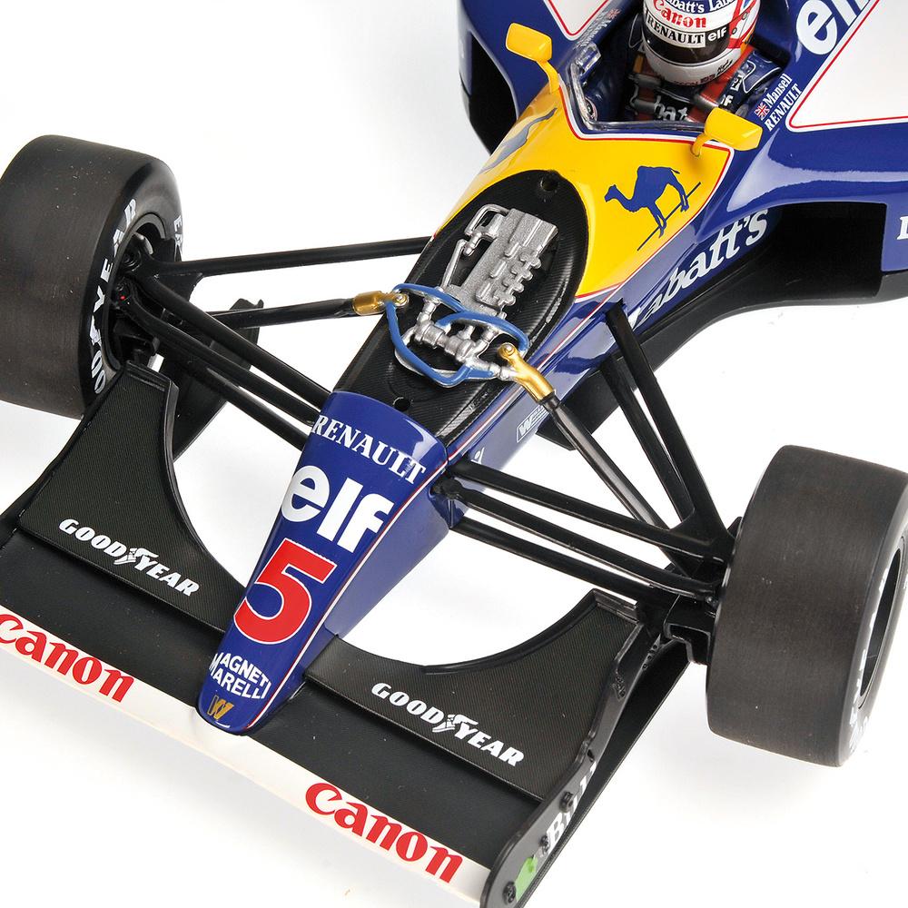 Williams FW14 nº 5 Nigel Mansell (1992) Minichamps 186920005 1/18