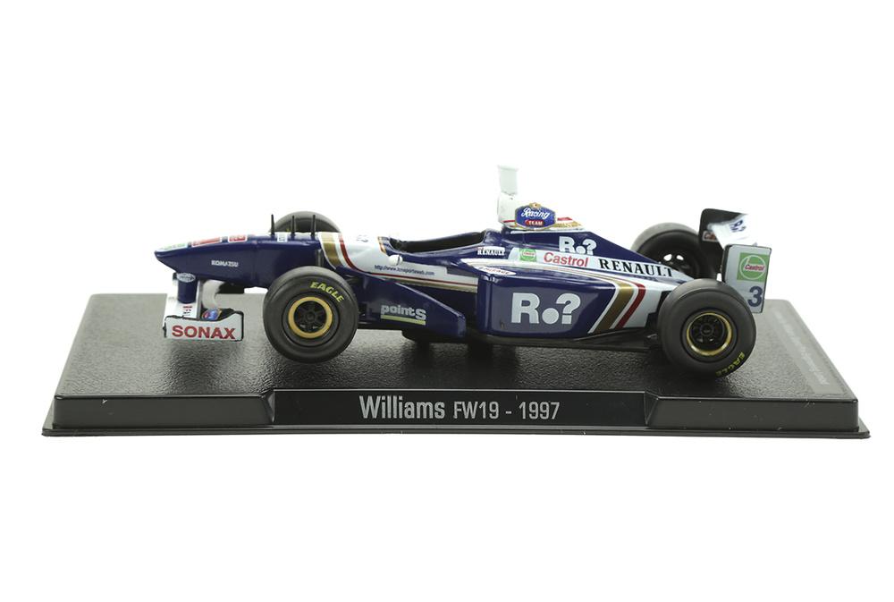 Williams FW19 nº 3 Jacques Villeneuve (1997) Sol90 11234 1:43