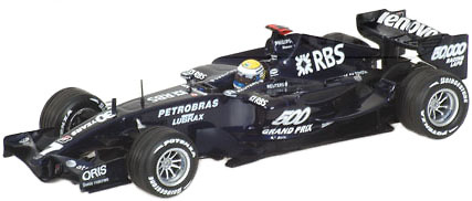 Williams FW29 nº 7 Nico Rosberg (2007) Minichamps 1/43