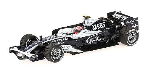 Williams FW30 nº 8 Kazuki Nakajima (2008) Minichamps 400080008 1/43