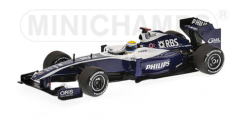 Williams FW31 nº 16 Nico Rosberg (2009) Minichamps 1/43