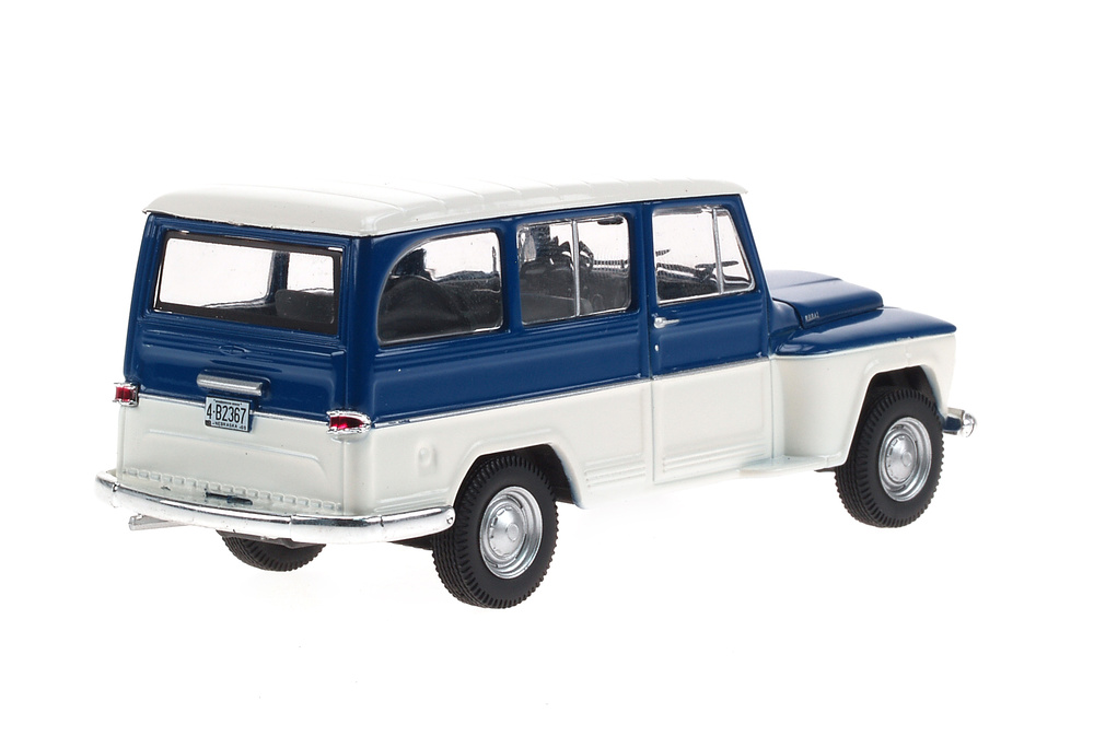 Willys Rural (1968) White Box WB092 1:43