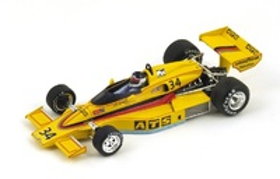 "ATS-Penske PC4 ""6º GP. Long Beach"" n°34 Jean-Pierre Jarier (1977) Spark 1:43"