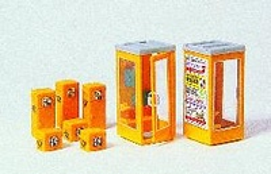 Accesorios Cabinas Telefonicas Preiser 1/87