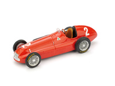 """Alfa Romeo 158 """"1º GP. Gran Bretaña"""" nº 2 Nino Farina (1950) Brumm 1/43"""
