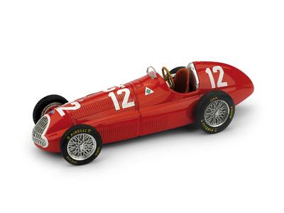 """Alfa Romeo 158 """"GP. Suiza"""" nº 12 Luigi Fagioli (1950) Brumm 1/43"""
