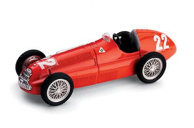 "Alfa Romeo 158 ""GP. Suiza"" nº 22 Luigi Villoresi (1950) Brumm 1/43"