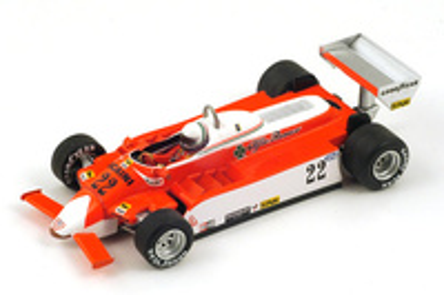 "Alfa Romeo 179 ""GP. Canadá"" nº 22 Andrea de Cesaris (1980) Spark 1/43"