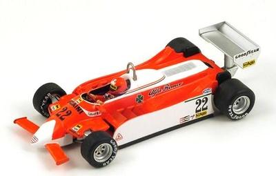 "Alfa Romeo 179 ""GP. Holanda"" nº 22 Vittorio Brambilla (1980) Spark 1/43"