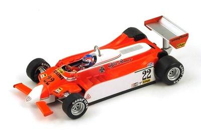 "Alfa Romeo 179 ""GP. Mónaco"" nº 22 Patrick Depailler (1980) Spark 1/43"