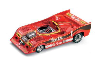 """Alfa Romeo 33SC 12  """"Coppa Florio Ganador"""" #1 A. Merzario (1977) Brumm 1/43"""