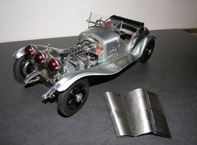 Alfa Romeo 6C 1750 GS -Sin Pintura- (1930) CMC 1:18
