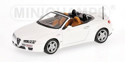 """Alfa Romeo Brera Spider """"Edizione 2008"""" (2007) Minichamps 1/43"""