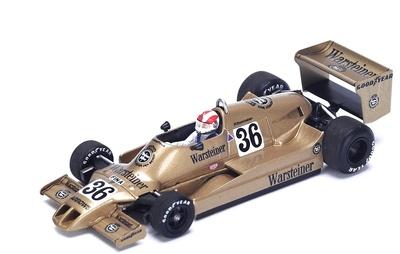 """Arrows A1 """"GP. USA"""" n°36 Rolf Stommelen (1978) Spark 1:43"""