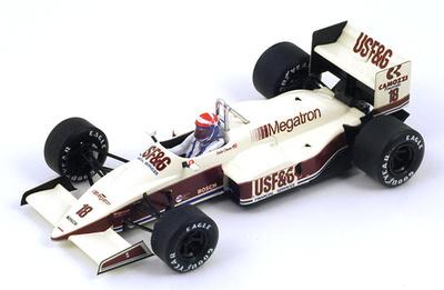 """Arrows A10 """"GP. Mónaco"""" nº 18 Eddie Cheever (1987) Spark 1/43"""