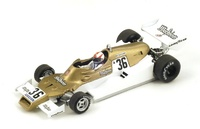 """Arrows FA1 """"GP. Sudáfrica"""" nº 36 Rolf Stommelen (1978) Spark 1:43"""