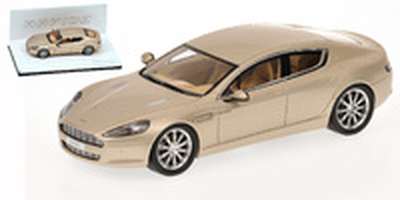 """Aston Martin Rapide """"Salon de Ginebra"""" (2010) Minichamps 1/43"""