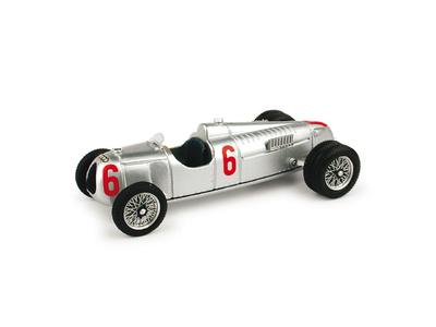Auto Union Tipo C 16 cil. Ruedas Gemelas nº 6 (1936) Brumm 1/43