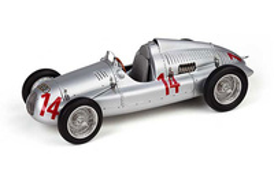 "Auto Union Tipo D ""GP. Francia"" nº 14 Georg Meier (1938) CMC 1/18"