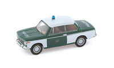 """BMW 2002 Sedán """"Polizei"""" (1968) Bub 1/87"""