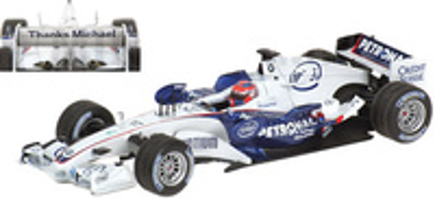 "BMW Sauber F1.06 ""GP. Brasil"" nº 17 Robert Kubica (2006) Minichamps 1/43"