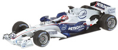 "BMW Sauber F1.06 ""GP. Hungria"" nº 17 Robert Kubica (2006) Minichamps 1/43"