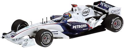 """BMW Sauber F1.06 """"TestCar Valencia"""" Alex  Zanardi  (2006) Minichamps 1/43"""