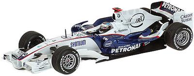 "BMW Sauber F1.08 ""Showcar"" nº 3 Nick Heidfel (2008) Minichamps 1/43"