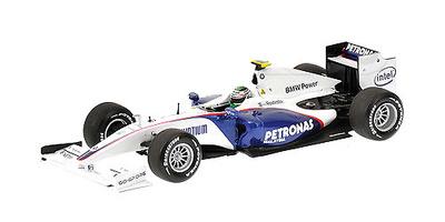 "BMW Sauber F1.09 ""Showcar"" nº 6 Nick Heidfeld (2009) Minichamps 1/43"