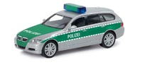 "BMW Serie 3 -E91- Touring ""police"" Herpa 1/87"