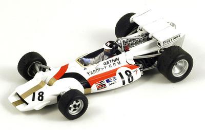 "BRM P160 ""1º GP Italia"" nº 18 Peter Gethin (1971) Spark 1/43"