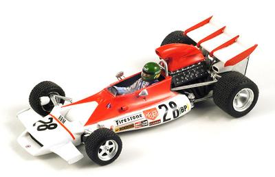 "BRM P160B ""GP. Mónaco"" nº 28 Reine Wisell (1972) Spark 1/43"
