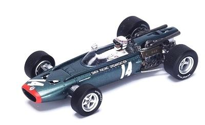 "BRM P83 ""2º GP. Bélgica"" nº 14 Jackie Stewart (1967) Spark 1:43"