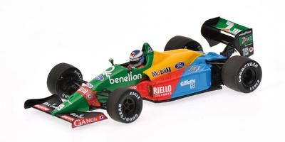 "Benetton B188 ""Test GP Silverstone"" nº 19 Mika Hakkinen (1990) Minichamps 1/43"