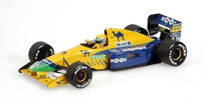 Benetton B191 nº 19 Roberto Moreno (1991) Minichamps 1/18