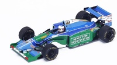 """Benetton B194 """"1º GP Mónaco"""" nº 5 Michael Schumacher (1994)  Spark 1:43"""