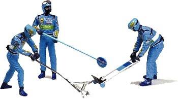 Benetton Mecánicos Pitstop (1999) Minichamps 1/43