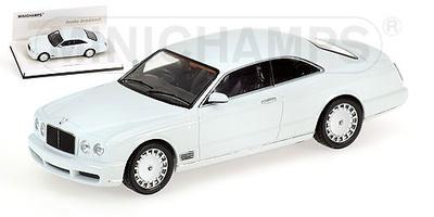 "Bentley Brooklands ""White Edition"" (2007) Minichamps 1/43"