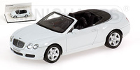 "Bentley Continental GTC  ""Linea Bianco"" (2007) Minichamps 1/43"
