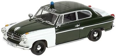 Borgward Isabella (1958) Policia Minichamps 1/43
