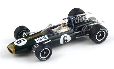 """Brabham BT20 """"2º GP. Gran Bretaña"""" nº 6 Denny Hulme (1966) Spark 1/43"""