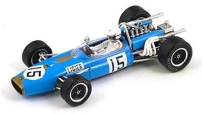 "Brabham BT20  ""6º GP. Alemania"" nº 15 Guy Ligier (1967) Spark 1/43"