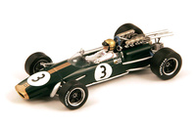 "Brabham BT24 ""1º GP. Francia"" Jack Brabham (1967) Spark 1:43"
