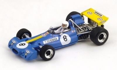 """Brabham BT33 """"3º GP. Austria"""" nº 8 Tim Schenken (1971) Spark 1:43"""