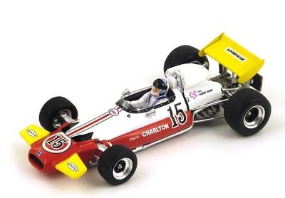 "Brabham BT33 ""GP. Sudáfrica"" nº 15 Dave Charlton (1971) Spark 1:43"