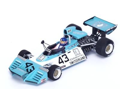 """Brabham BT42 """"GP. Bélgica"""" nº 43 Gerard Larrousse (1974) Spark 1:43"""