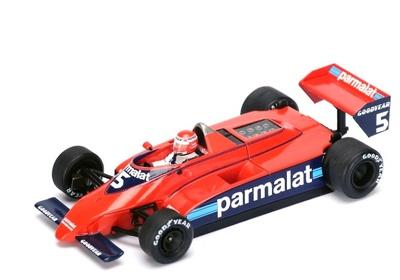 """Brabham BT49 """"Practicas GP. Canadá"""" nº 5 Niki Lauda (1979) Spark 1:43"""