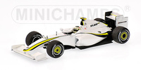 "Brawn BGP001 ""Showcar"" nº 13 Rubens Barrichello (2009) Minichamps 1/43"