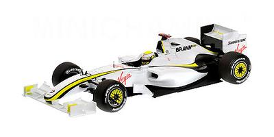 Brawn BGP001 nº 22 Jenson Button (2009) Minichamps 1/18