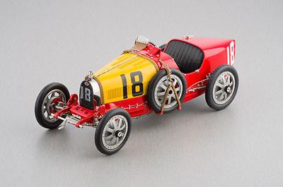 """Bugatti Tipo 35 """"Equipo de España"""" nº 18 (1926) CMC 1/18"""
